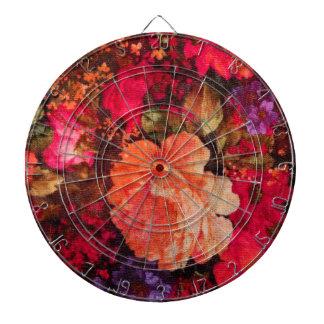 Modelo del papel pintado floral del vintage tabla dardos