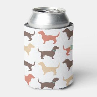 Modelo del perro del Dachshund de la diversión Enfriador De Latas