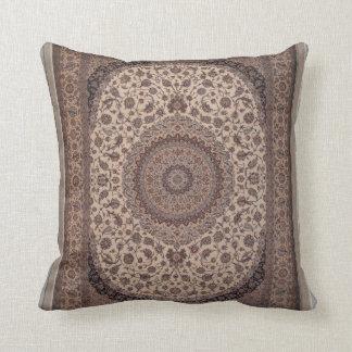Modelo del persa del vintage almohada