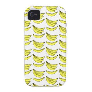 Modelo del plátano iPhone 4/4S carcasas