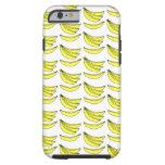 Modelo del plátano funda de iPhone 6 tough