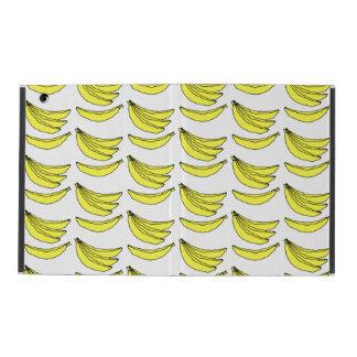 Modelo del plátano iPad protectores