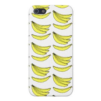 Modelo del plátano iPhone 5 fundas