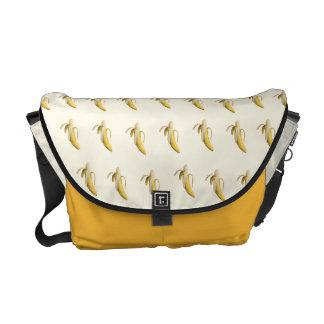 Modelo del plátano - la bolsa de mensajero de bolsa de mensajeria