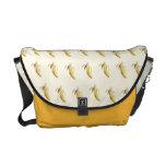 Modelo del plátano - la bolsa de mensajero de bolsas de mensajería