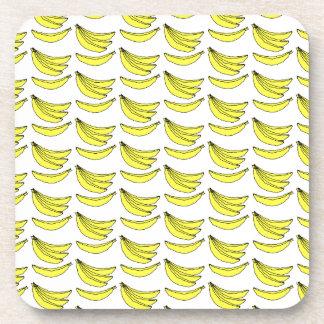 Modelo del plátano posavasos de bebidas
