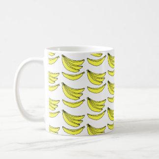 Modelo del plátano taza básica blanca