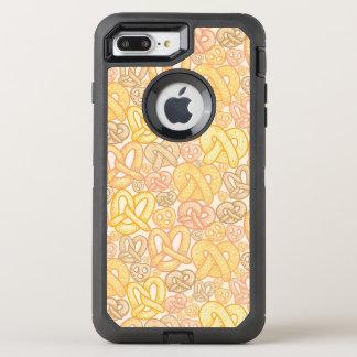 Modelo del pretzel funda OtterBox defender para iPhone 7 plus