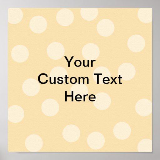 Modelo del punto y texto marrones claros, beige de impresiones