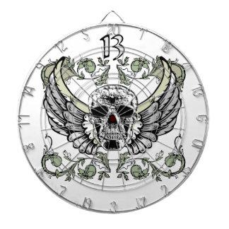 Modelo del reloj del cráneo de 13 horas