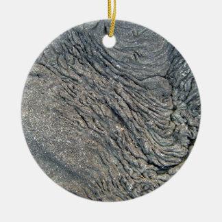 Modelo del remolino de la roca adorno redondo de cerámica