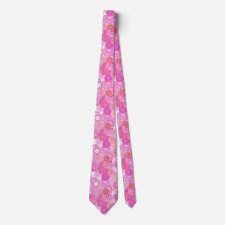 Modelo del remolino del fractal, sombras del rosa corbatas