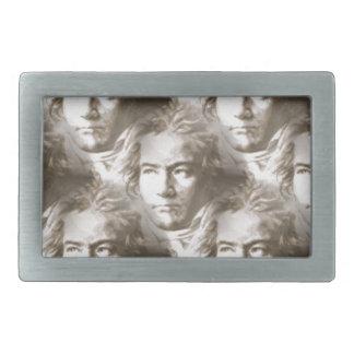 Modelo del retrato de Beethoven Hebilla Cinturón Rectangular