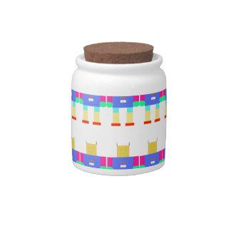 Modelo del robot jarras para caramelos