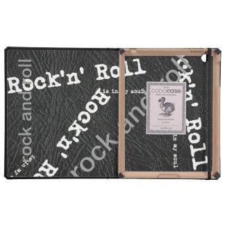 modelo del rock-and-roll iPad cárcasa