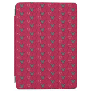Modelo del rojo de Mickey Mouse Cubierta De iPad Air