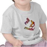 Modelo del rollo - camisetas de la incapacidad - e