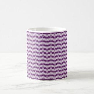 Modelo del rombo taza básica blanca