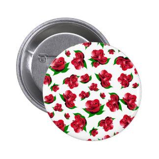 Modelo del rosa rojo pins