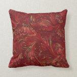modelo del rubí de los años 70 almohadas