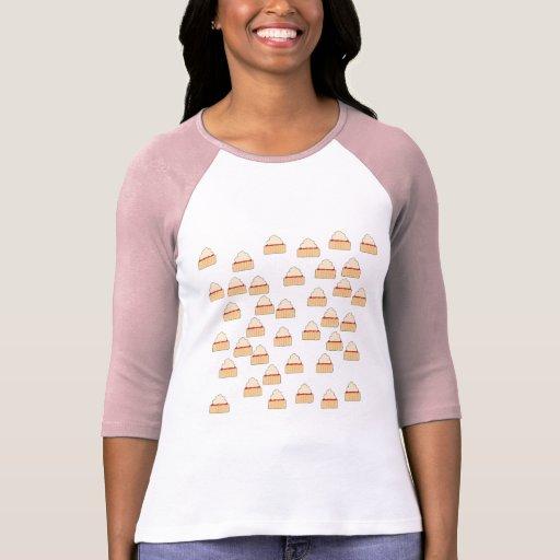 Modelo del Scone del atasco y de la crema Camisetas