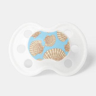 Modelo del Seashell del estilo del vintage Chupetes Para Bebés