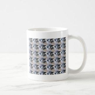 Modelo del sextante taza de café