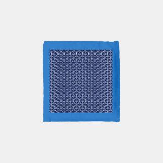 Modelo del signo de la paz en azul de medianoche bolsa reutilizable