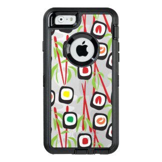 Modelo del sushi funda OtterBox defender para iPhone 6