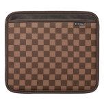 Modelo del tablero de Brown Funda Para iPads