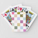 Modelo del tablero de damas del arco iris baraja de cartas