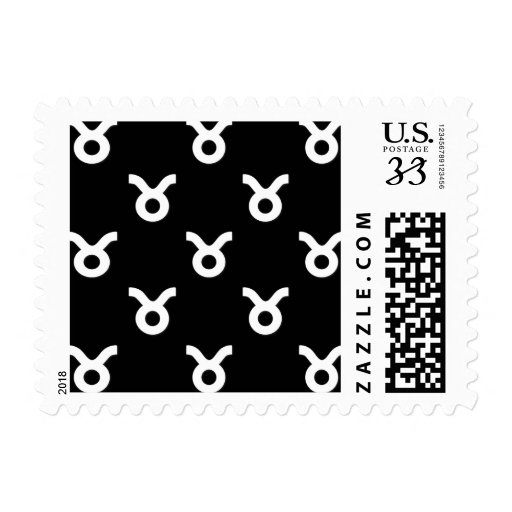 Modelo del tauro blanco y negro sellos