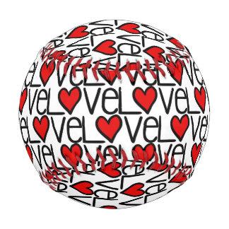 Modelo del texto del amor con los corazones
