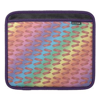 Modelo del tocino del arco iris funda para iPads