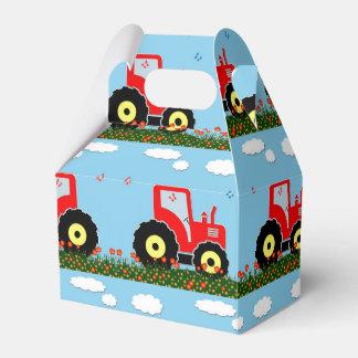 Modelo del tractor del juguete cajas para regalos de boda