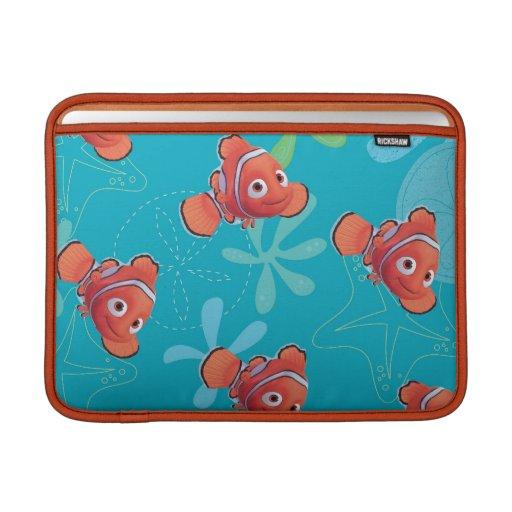 Modelo del trullo de Nemo Funda Macbook Air