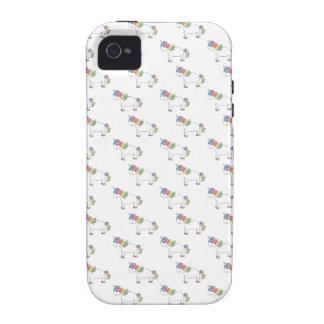 Modelo del unicornio iPhone 4/4S fundas