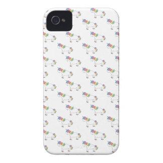 Modelo del unicornio iPhone 4 Case-Mate cobertura