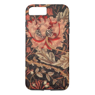 Modelo del vintage de la madreselva de William Funda iPhone 7 Plus