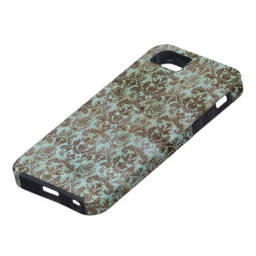 Modelo del vintage - imagen 9 (marrón y azul) iPhone 5 protector