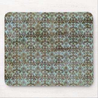 Modelo del vintage - imagen 9 (marrón y azul) mouse pads