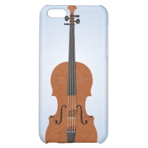 Modelo del violín 3D: caso del iPhone 4