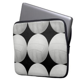 Modelo del voleibol en negro o cualquier color mangas portátiles