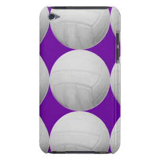 Modelo del voleibol en púrpura o cualquier color iPod touch fundas