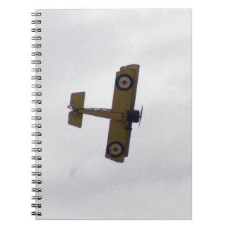 Modelo del vuelo del camello de Sopwith Libreta