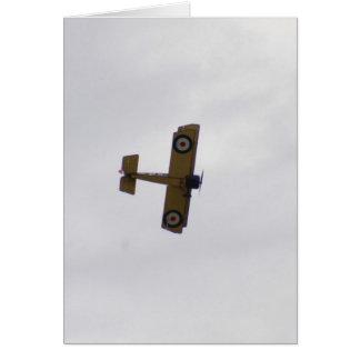 Modelo del vuelo del camello de Sopwith Tarjeta De Felicitación