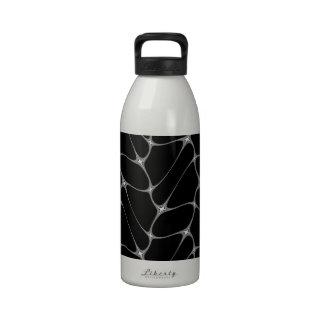 Modelo del Web de arañas Botella De Agua Reutilizable