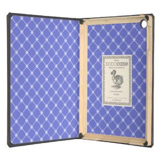 Modelo diagonal azul medieval