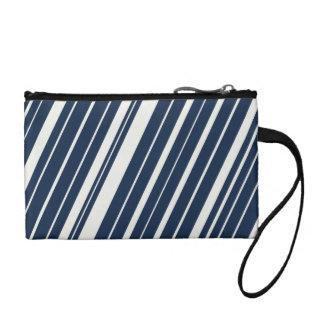 Modelo diagonal fresco del azul marino y blanco de