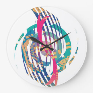 Modelo dinámico reloj redondo grande